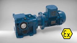 Kosteneffiziente Getriebemotoren für explosionsgefährdete Bereiche