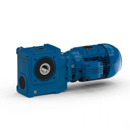 Helical worm geared motors - Serie S