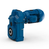 Shaft mounted geared motors - Serie A